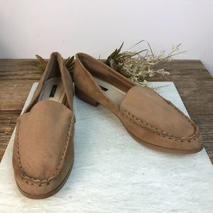 Forever 21 Tan Slip On Loafers 9